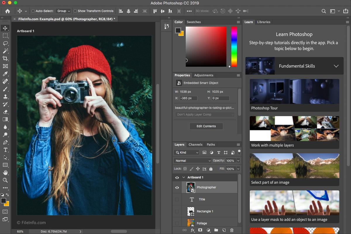 دورة برنامج فوتوشوب Adobe Photoshop