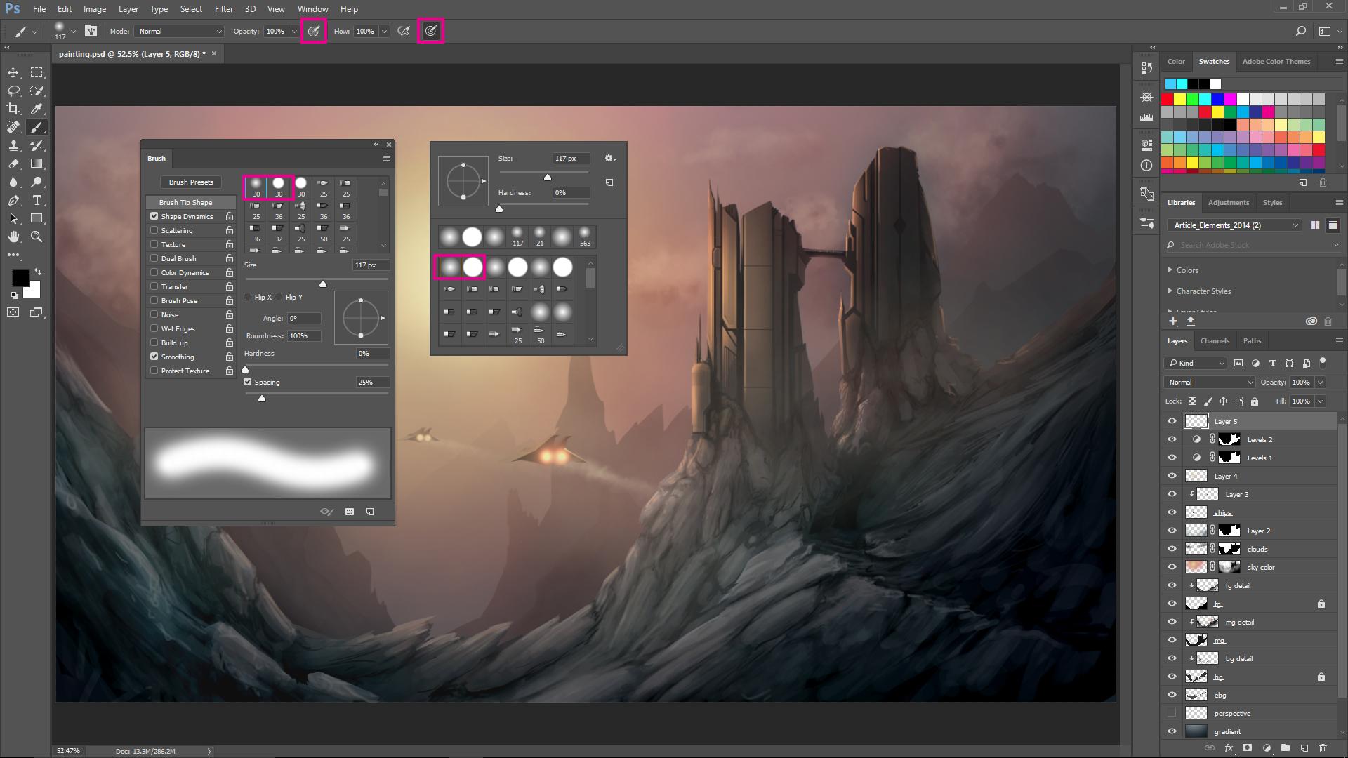دورة برنامج فوتوشوب Adobe Photoshop2